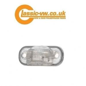 Mk2 Scirocco Number Plate Light Lens Only 481943021A Mk1 Jetta, Audi 100